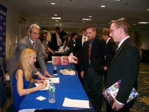 YAF 2009 - Meeting Ann Coulter 1